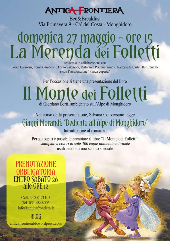 Merenda dei Folletti, Monghidoro 27 maggio 2012
