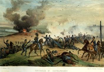 Risultati immagini per battaglia di Castelfidardo
