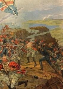 Bonaparte ferito da un soldato inglese durante l'assedio di Tolone (1793)