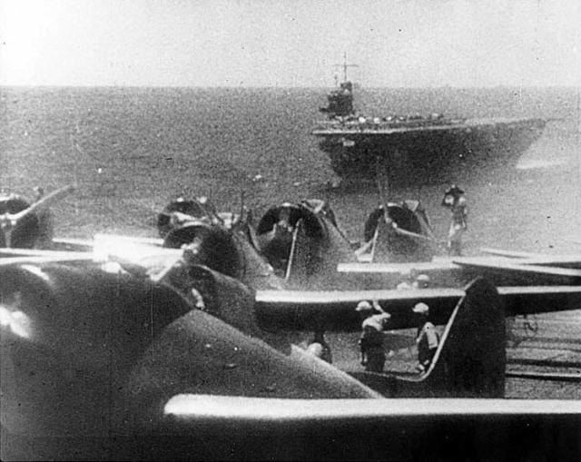 La Flotta Giapponese in navigazione verso Pearl Harbor
