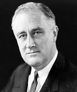 Franklin Delano Roosevelt  ( 1882 / 1945 )  32° Presidente USA