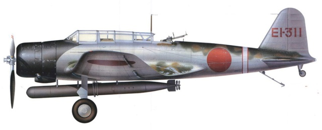Aerosilurante  Nakajima B5N della Portaerei Shokaku