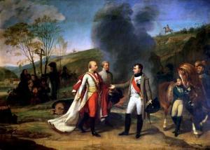 Incontro tra Napoleone e Francesco II d'Austria dopo la battaglia d'Austerlitz