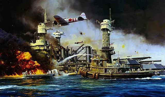 L' Attacco Giapponese a Pearl Harbor