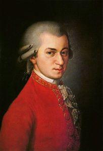 Wolfgang Amadeus Mozart (ritratto postumo di Barbara Kraft, 1819)