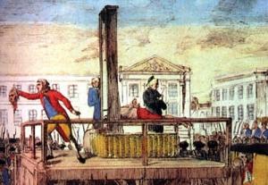 Luigi XVI ghigliottinato