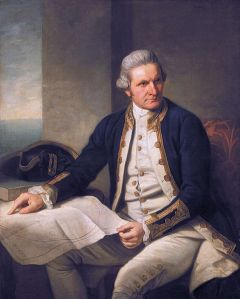 Ritratto di James Cook