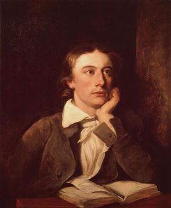 John Keats, dipinto di William Hilton, National Portrait Gallery, Londra.