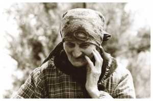 Dorotea Nannetti - zia Dorotea - in una foto del 1985