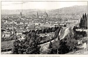 Xilografia originale estratta dall'opera L'Italia del Nord di G. De Leris