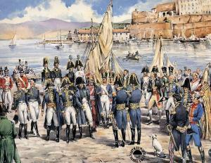 Arrivo di Napoleone all'Elba